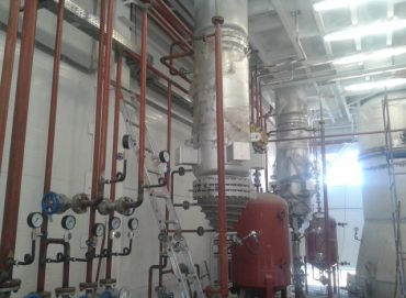 Линия гидратации растительных масел, производства лецитина 210 тонн в сутки