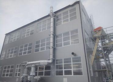 Линия экстракции мощность 200 т/сутки по жмыху подсолнечника, рапса от производителя.