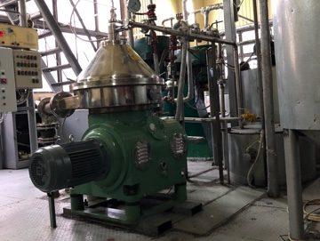 Сепаратор DHZ360 для рафинации растительного масла, доставка, монтаж, обслуживание